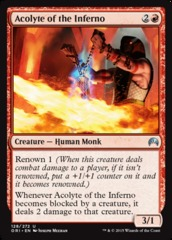 Acolyte of the Inferno on Channel Fireball