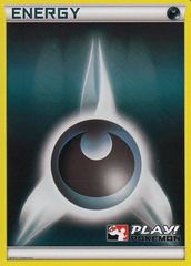Darkness Energy - 2010 Crosshatch Holo Play! Pokemon Promo on Channel Fireball
