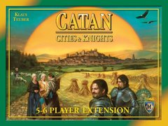 Settlers of Catan: Cities & Knights - 5-6 Player Extension (2007)