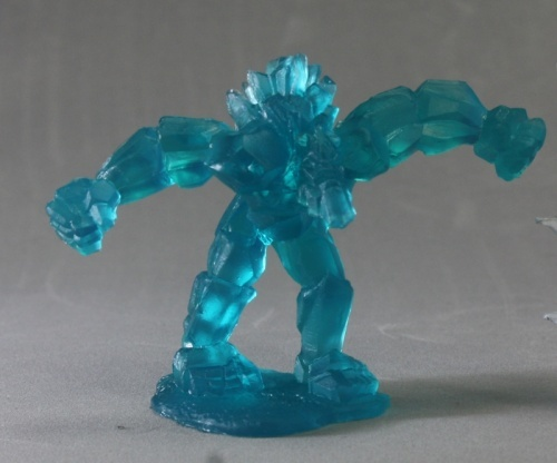 Crystal Golem 77309 Role Playing Games Rpg Minis Reaper