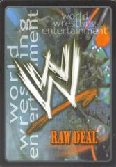 Backed by Mr. McMahon (SS3) Foil