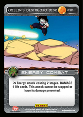 Krillin's Destructo Disk on Channel Fireball