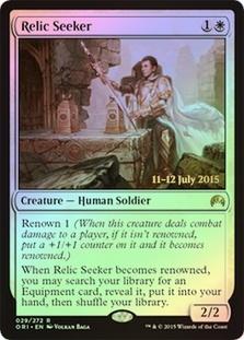 Relic Seeker - Foil - Prerelease Promo