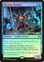 Mizzium Meddler - Magic Origins Prerelease Promo
