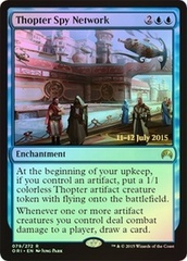 Thopter Spy Network - Foil - Prerelease Promo