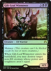 Gilt-Leaf Winnower - Foil - Prerelease Promo