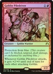Goblin Piledriver - Foil - Prerelease Promo