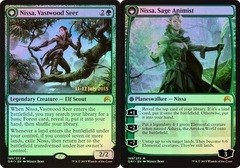 Nissa, Vastwood Seer // Nissa, Sage Animist (Magic Origins Prerelease)