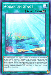 Aquarium Stage - DRL2-EN042 - Super Rare - 1st Edition