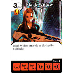 Black Widow - Cold Warrior (Die & Card Combo)