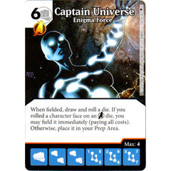 Captain Universe - Enigma Force (Die & Card Combo)