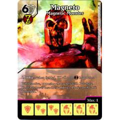 Magneto - Magnetic Monster (Full Art) (Die & Card Combo)