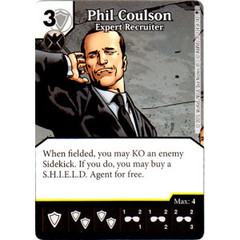 Phil Coulson - Expert Recruiter (Die & Card Combo)