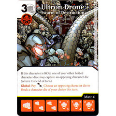 Ultron Drone - Swarm of Destruction (Die & Card Combo)