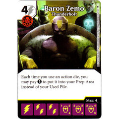 Baron Zemo - Thunderbolt (Card Only)