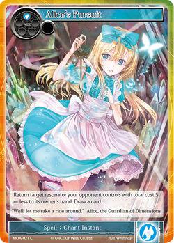 Alice's Pursuit - MOA-021 - C