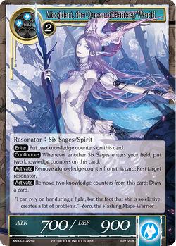 Moojdart, the Queen of Fantasy World - MOA-026 - SR