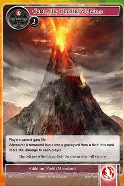 Certo, the Blazing Volcano - VS01-017 - U