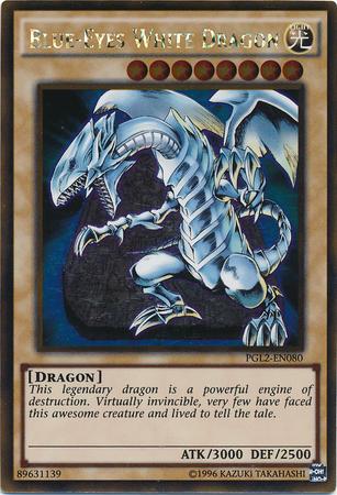 Blue-Eyes White Dragon - PGL2-EN080 - Gold Rare - Unlimited Edition