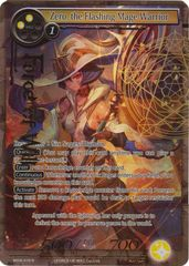 Zero, the Flashing Mage-Warrior - MOA-010 - R - Full Art