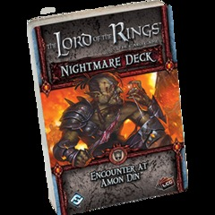 Lord of the Rings Card Game: Nightmare Deck Encounter at Amon Din