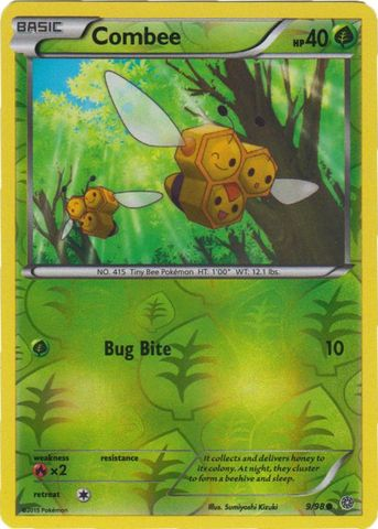 Combee - 9/98 - Common - Reverse Holo