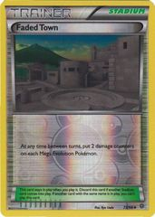 Faded Town - 73/98 - Uncommon - Reverse Holo