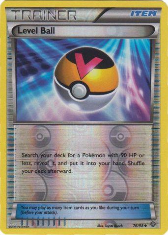 Level Ball - 76/98 - Uncommon - Reverse Holo