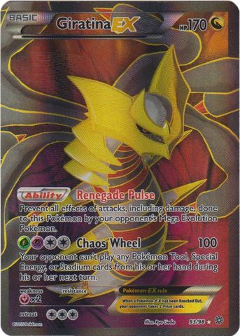 Giratina-EX - 93/98 - Full Art Ultra Rare
