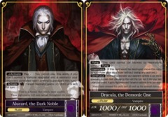 Alucard, the Dark Noble // Dracula, the Demonic One - CMF-077-J - Rare - 2nd Printing