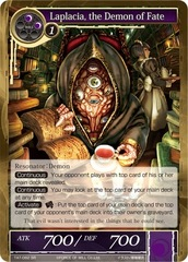 Laplacia, the Demon of Fate - TAT-082 - SR - 2nd Printing