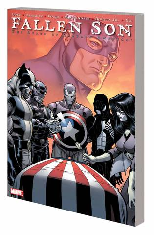 Fallen Son Death Of Captain America Tp New Ptg