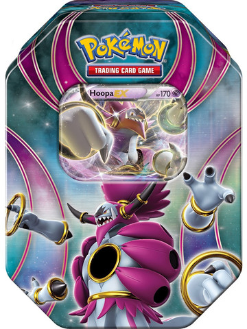 Pokemon Powers Beyond Tin: Hoopa EX