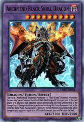Archfiend Black Skull Dragon - CORE-EN048 - Ultra Rare - 1st Edition on Channel Fireball