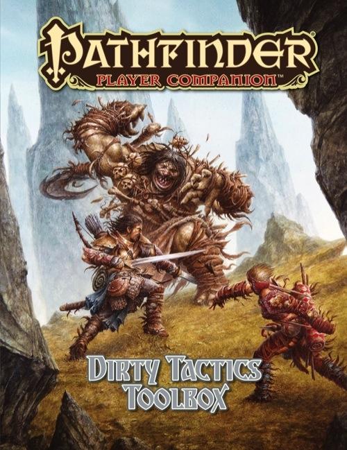 Pathfinder Player Companion: Dirty Tactics Toolbox