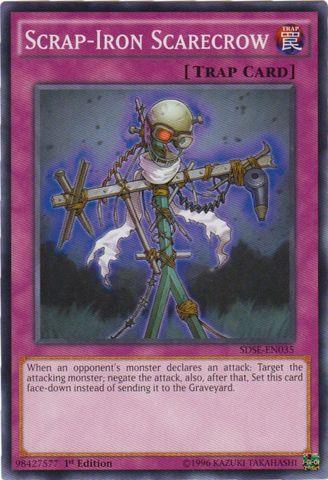 Scrap-Iron Scarecrow - SDSE-EN035 - Common - 1st Edition