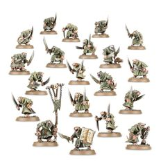 (90-12) Skaven Plague Monks Unit