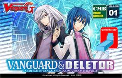 G Comic Booster 1: Vanguard & Deletor Booster Pack