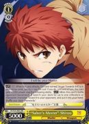 Saber's Master Shirou - FS/S34-E002 - RR