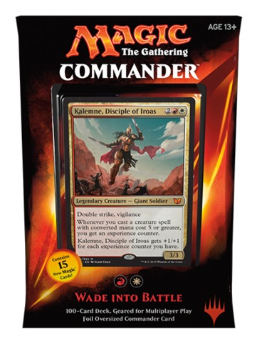 Commander 2015: Wade into Battle (Red/White)