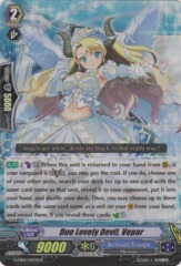 Duo Lovely Devil, Vepar - G-CB01/015EN - R (Alternate Foil) on Channel Fireball