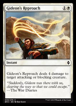 Gideons Reproach - Foil