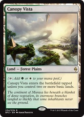 Canopy Vista - Foil on Channel Fireball