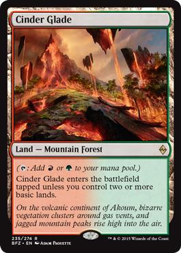 Cinder Glade - Foil