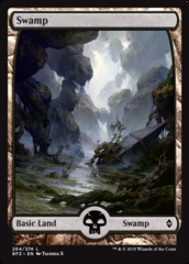 Swamp (Full Art) - Battle for Zendikar - 264