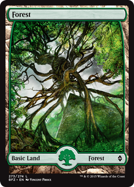 Forest (273) - Foil (Full Art)