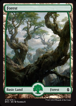 Forest (274) - Foil (Full Art)