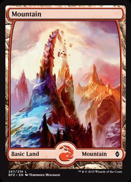 Mountain (267) - Foil (Full Art)