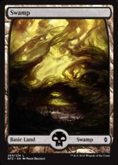 Swamp (260) - Foil - Full Art