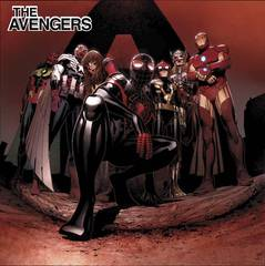 All New All Different Avengers #1 Cheung Hip Hop Var